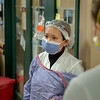 Ana Lopez, RN, Director of the Emergency Department.<br />  Holy Name Medical Center in Teaneck, New Jersey, during the first weeks of the COVID-19 Pandemic.  03/27/2020  Photos by Jeff Rhode  Mandatory photo credit, and please use only with permission from Jeff Rhode and Holy Name Medical Center. <br /> If you need ID's or detailed captions please call 201-543-8067 or email jrhode@holyname.org