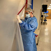 Holy Name Medical Center in Teaneck, New Jersey, during the first weeks of the COVID-19 Pandemic.  04/06/2020  Photos by Jeff Rhode  Mandatory photo credit, and please use only with permission from Jeff Rhode and Holy Name Medical Center. <br /> If you need ID's or detailed captions please call 201-543-8067 or email jrhode@holyname.org