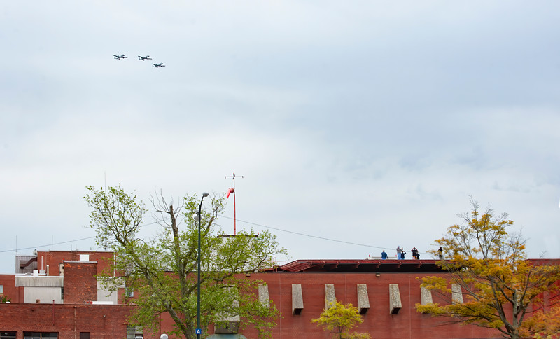 May 8th, A-10 HEALTHCARE FLYOVER by Martin State MDARNG A-10 Warthogs