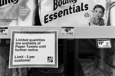Rationing Paper Products