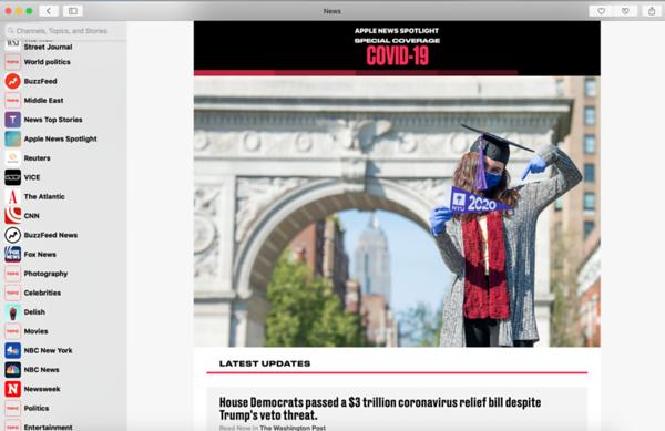 Apple News- Graduationg  NYU photo in Wash Sq-Screen Shot 2020-05-16 at 12 40 20 PM