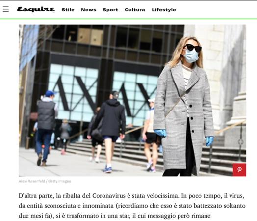 Esquire Italy - Aramni Exchange photo
