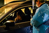 Brattleboro Memorial Hospital, in Brattleboro, Vt., sees around 18 people per hour at their COVID-19 drive-thru testing site on Wednesday, Dec. 3, 2020. BMH has tested around 550 people for the virus using the drive-thru style since November 18, 2020.