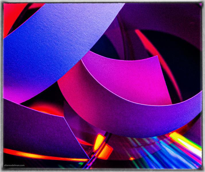 White Paper, Coloured LEDs, DVD Background