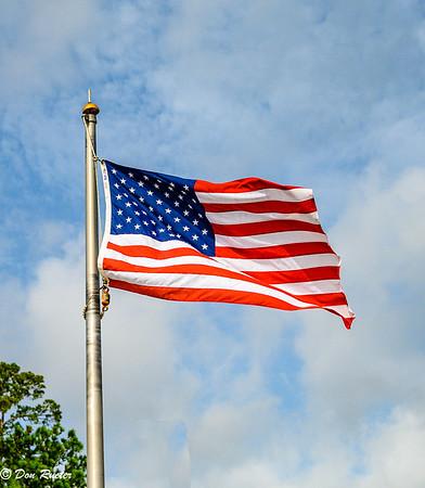Letter A American Flag, Air