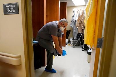 Virus Outbreak Rural Missouri Hospital