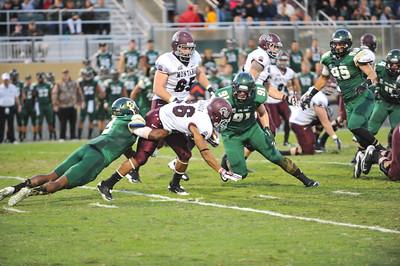 Cal Poly Football vs Montana. The Mustangs won 41-21. Oct. 25, 2014. Photo by Ian Billings