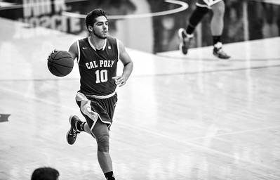 Cal Poly Men's Basketball vs Saint Mary's. The Mustangs fell 82-56. Nov. 27, 2014. Photo by Ian Billings