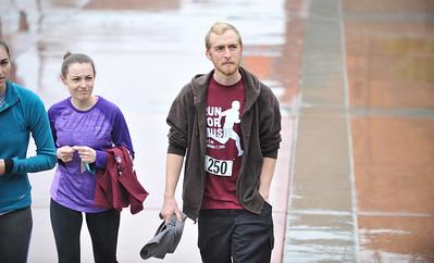 "Run For Music 2015. ""Run For Music"" is a 5k/10k put on by the Cal Poly chapter of Kappa Kappa Psi. Feb. 7, 2015. Photo by Ian Billings"