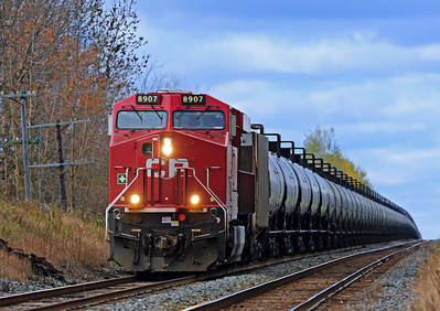 Canadian Pacific #608,  Winchester Subdivision, Oct 20 2013