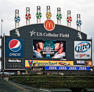 Annual Chicago Police, Lodge 7, and Chicago Fire, Local 2, Charity Baseball Game played at US Cellular Field, Home of the Chicago White Sox professional baseball team