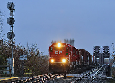 Canadian Pacific #253, LaSalle, Qc Oct 26 2013