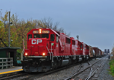 Canadian Pacific #253,  La Salle, Qc October 26 2013