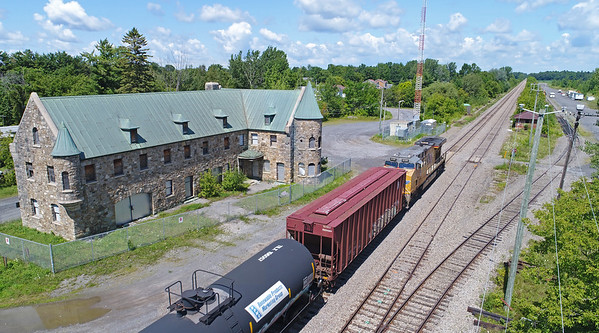 Canadian Pacific #650, Lacolle, Quebec, August 13 2017.