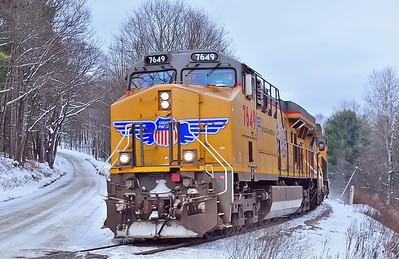 CP/D&H #930, near Westport NY