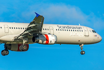 SAS Scandinavian Airlines Airbus A321-232 OY-KBL 11-18-18