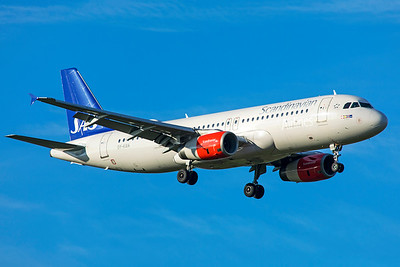 SAS Scandinavian Airlines Airbus A320-232 OY-KAN 11-18-18