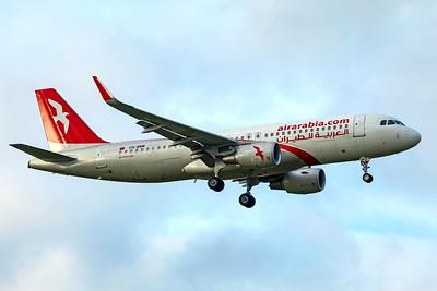 Air Arabia Maroc Airbus A320-214 CN-NMM 11-18-18