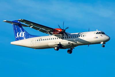SAS Scandinavian Airlines ATR 72-600 ES-ATE 11-18-18