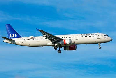 SAS Scandinavian Airlines Airbus A321-232 OY-KBL 11-18-18 2