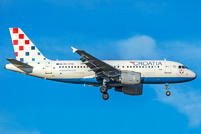 Croatia Airlines Airbus A319-112 9A-CTG 11-18-18