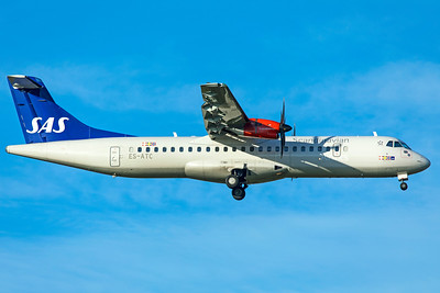 SAS Scandinavian Airlines ATR 72-600 ES-ATC 11-18-18