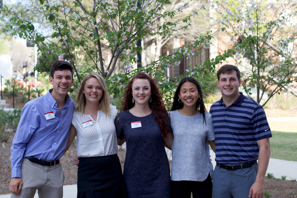 2016 Leadership Fellows- Alex Borovsky, Leah Schroeder, Bergen Aughey, Li Anne Harris and Mitchell Gargosh