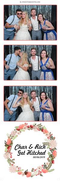Char & Rich Wedding @ Salt Pub & Restaurant Hoi An - photostrips instant print photo booth in Hoi An - Chụp hình in ảnh lấy liền Tiệc cưới tại Hội An