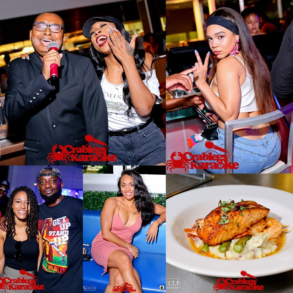 CRAB LEGS AND KARAOKE  WEDNESDAYS @ SUITE LOUNGE  9-19-18