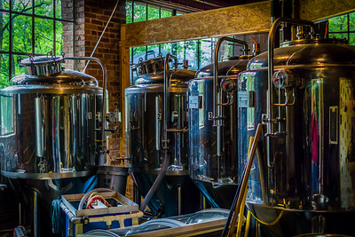Frog Level Brewing Tanks