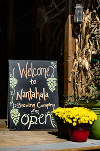 Nantahala Brewing Co Welcom