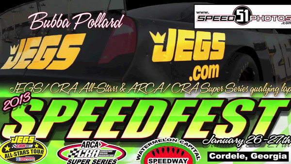VIDEO: Bubba Pollard Pro and SLM Qualifying, Speedfest