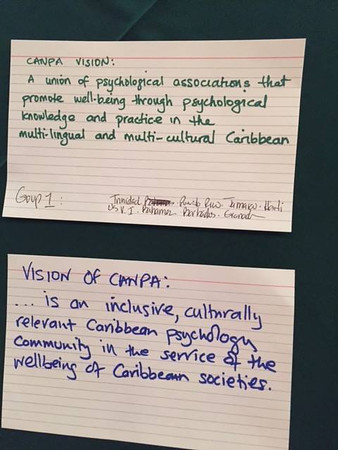 Monday, November 7 CANPA Strategic Planning