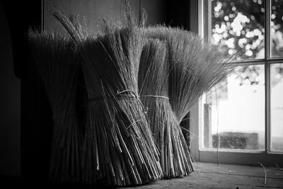Makings of the broom