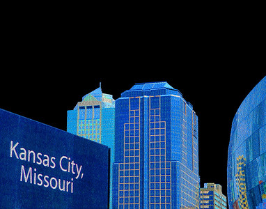 Kansas City Skyline - Northward View