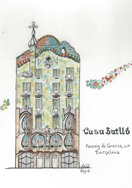 Casa Batlló, Barçelona