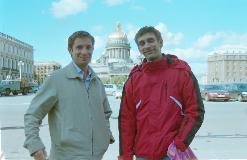 Mark and Paul at St Petersburg