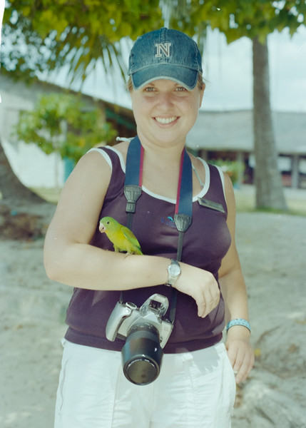 Photographer Louise at San Blas Islands