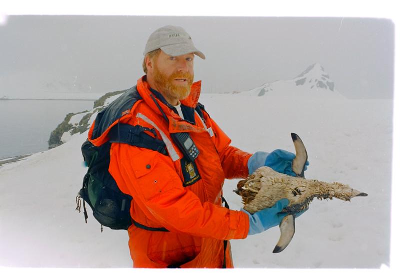 Zoologist Peter Carey
