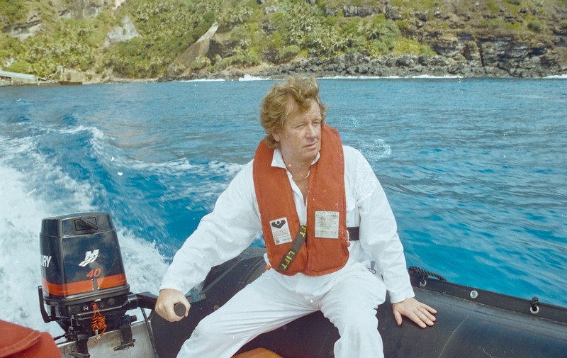 Chief Engineer Mark at Pitcairns Island