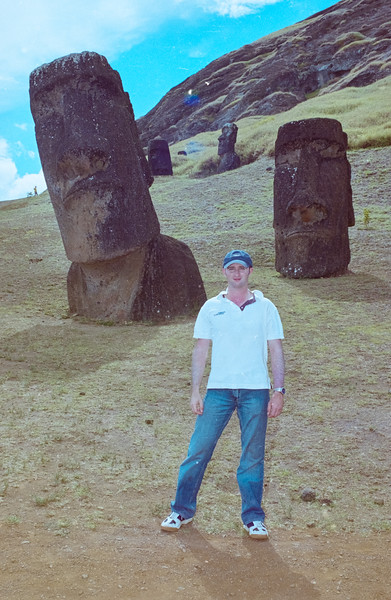 Photo Manager Christian Wilkincon at Easter Island