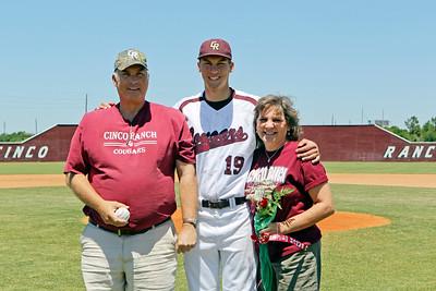 CRHS Varsity Baseball Seniors 2012
