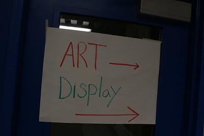 CRHS Student Art Display