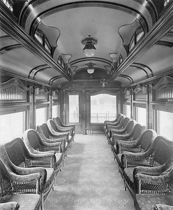 2020.016.BS.015--phil weibler collection 8x10 print--CM&StP--lounge car interior (Barney & Smith lot 2057)--Dayton OH--c1904 0000