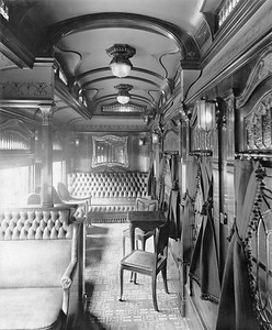 2020.016.BS.001--phil weibler collection 8x10 print--CM&StP--lounge car interior (Barney & Smith lot 2057)--Dayton OH--c1904 0000
