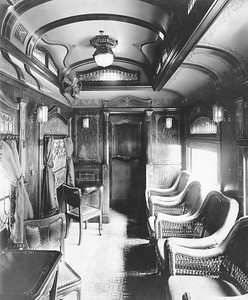 2020.016.BS.014--phil weibler collection 8x10 print--CM&StP--lounge car interior (Barney & Smith lot 2057)--Dayton OH--c1904 0000