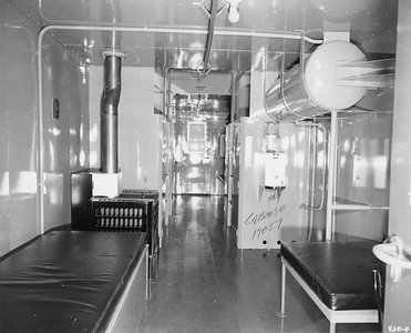 2020.016.C.003--phil weibler collection 8x10 print--CRI&P--caboose 17507 interior view--location unknown--no date