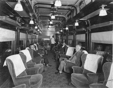 2020.016.PH.008--phil weibler collection 8x10 print--CRI&P--obs-parlor car 760 interior built in RI shops--location unknown--1926 0600