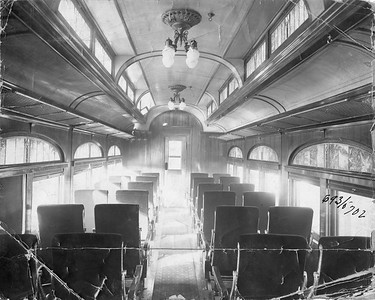 2020.016.PH.003--phil weibler collection 8x10 print--CRI&P--coach 693-702 series (Pullman lot 3917) interior--location unknown--no date