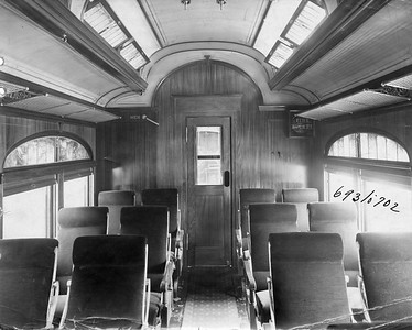 2020.016.PH.002Z--phil weibler collection 8x10 print--CRI&P--coach 693-702 series (Pullman lot 3917) interior--location unknown--no date